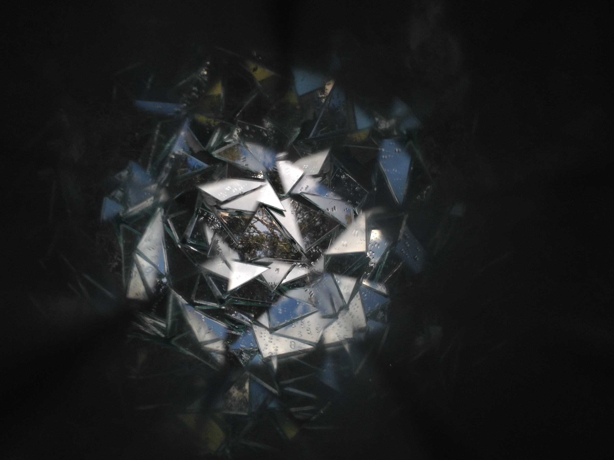 Collaboration experiments with Heidi Kenyon's handmade kaleidoscope