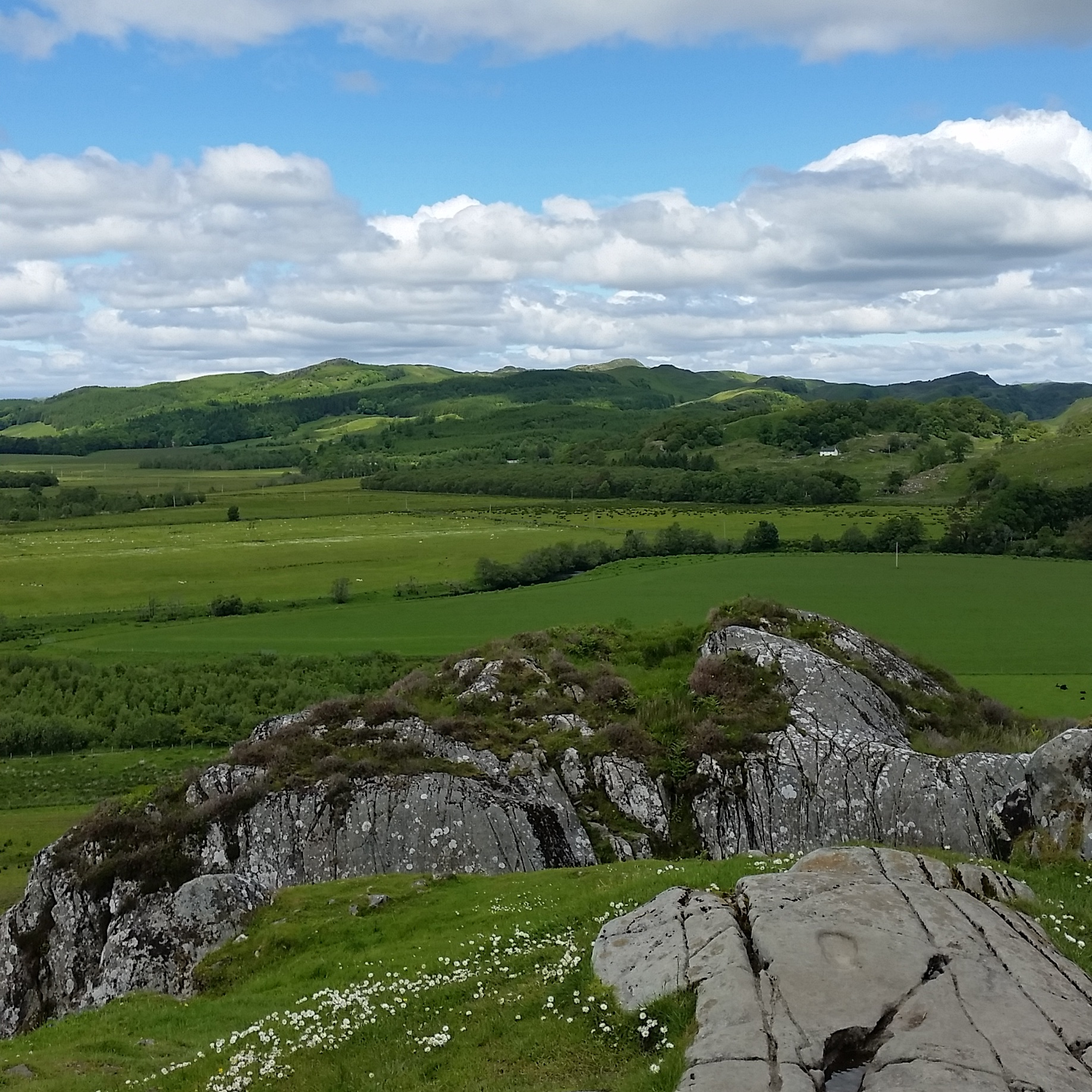 Hill of Dunadd, Argyle and Bute