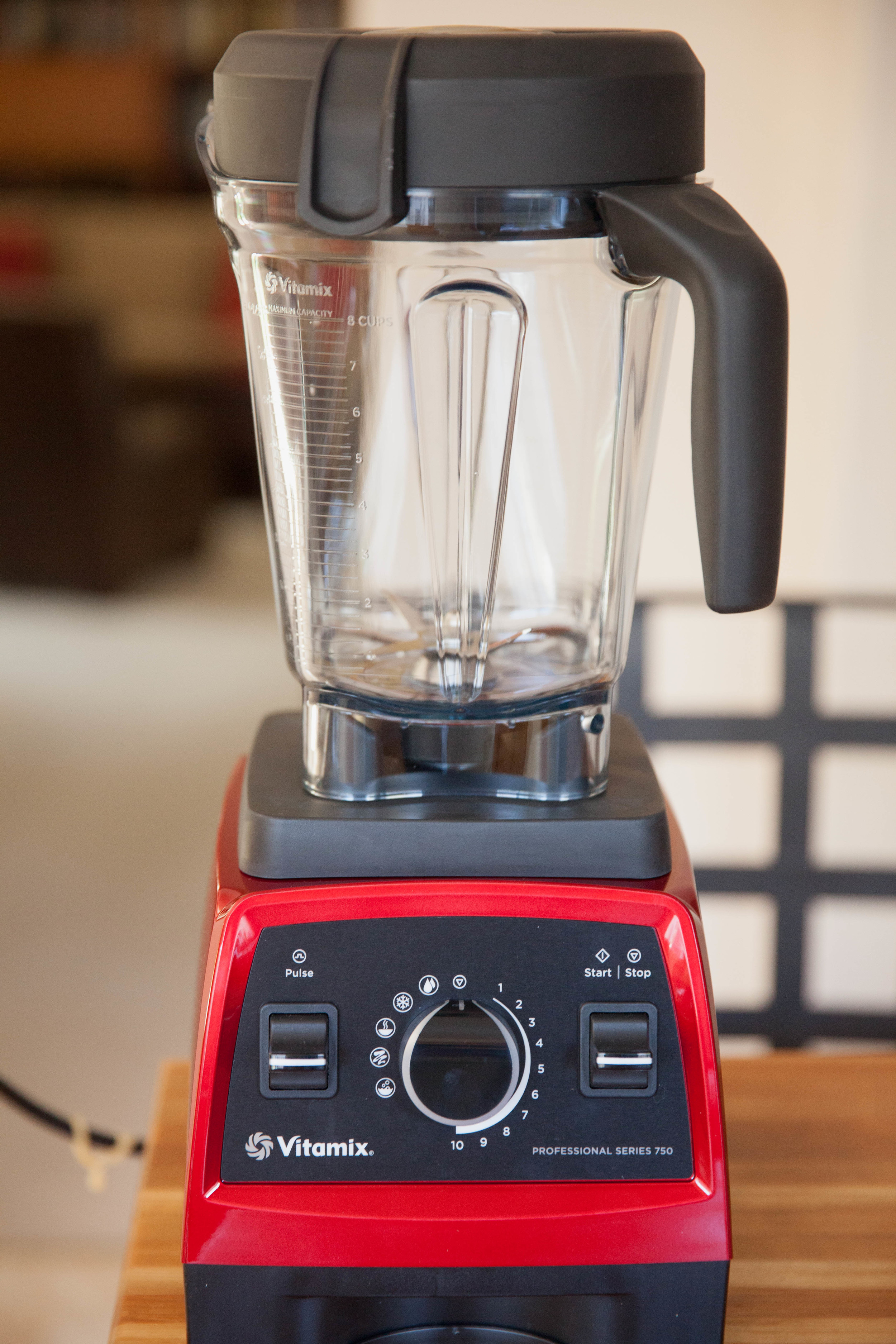 A long time ago, I purchased one of the original Vitamix, and while I love every minute of my old machine, it makes a lot of noise and takes up a lot of counter space. This one by comparison is so much smaller and quieter. I can't wait to use it tomorrow morning for my smoothie. I am still disappointed about not being able to do my photo session, but I guess I will have to be a little patient.