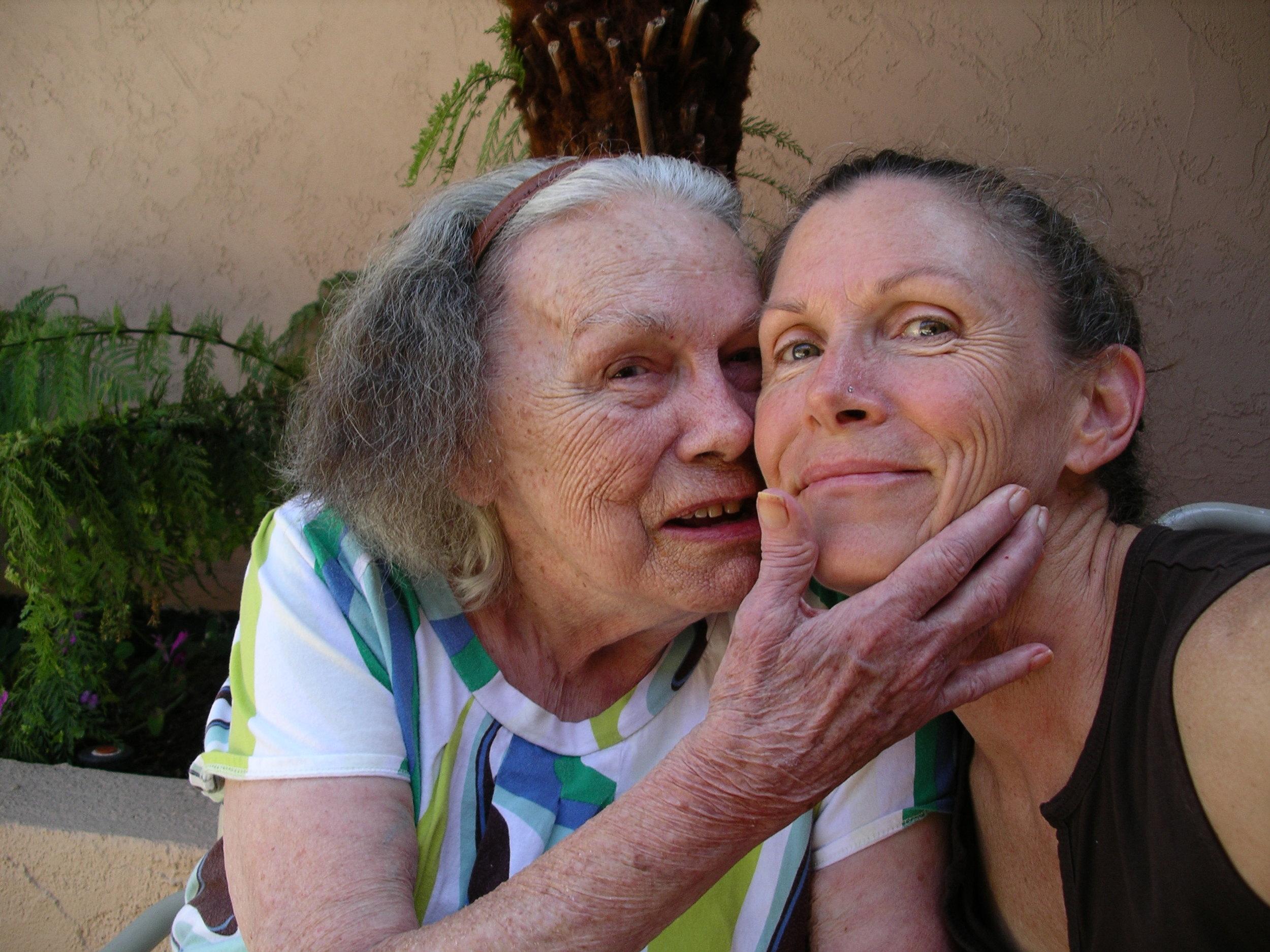 Barbara & her mom