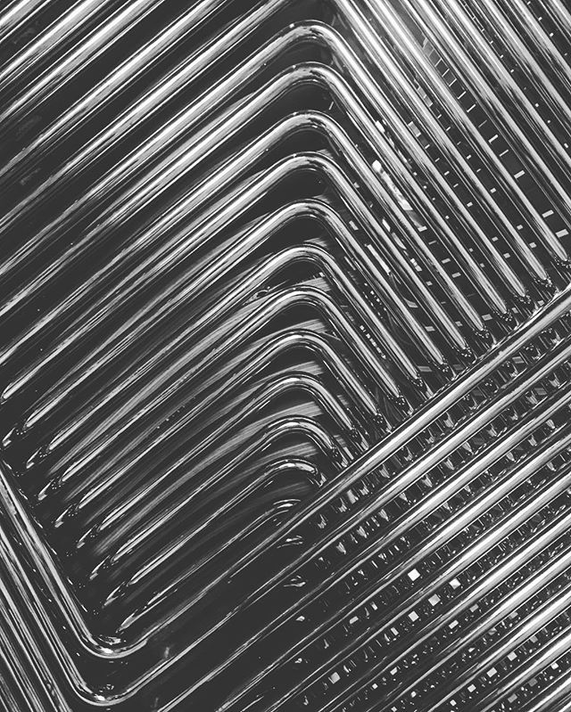 Different perspective on chairs. #symmetry #stack #chair #bw #pattern #metal