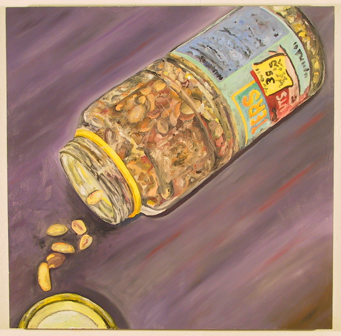 Peanuts, hurtling through space