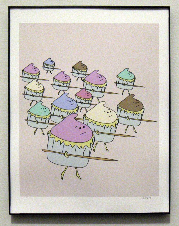 Cupcake Army, Advancing Print
