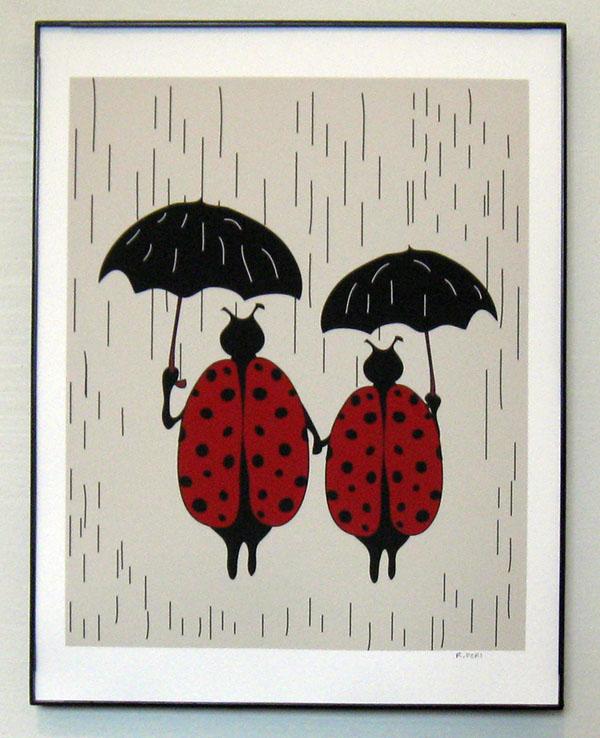 Ladybugs Print