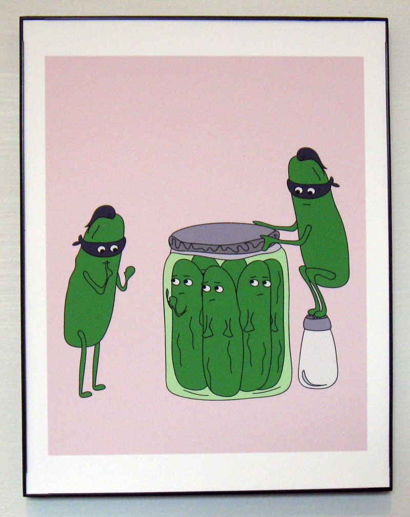 Ninja Pickles Print