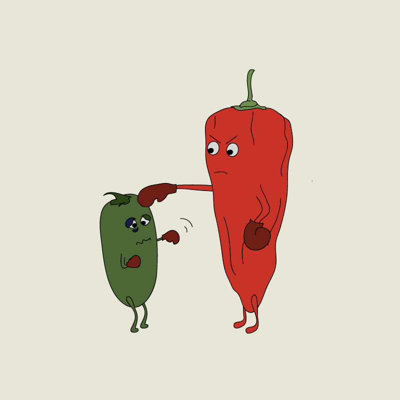 Fighting Peppers