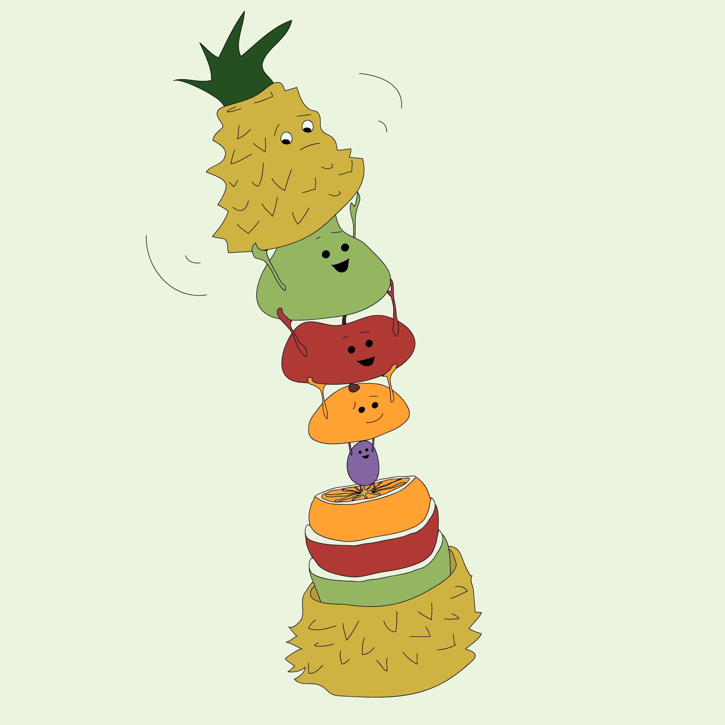 Matryoshka Fruit