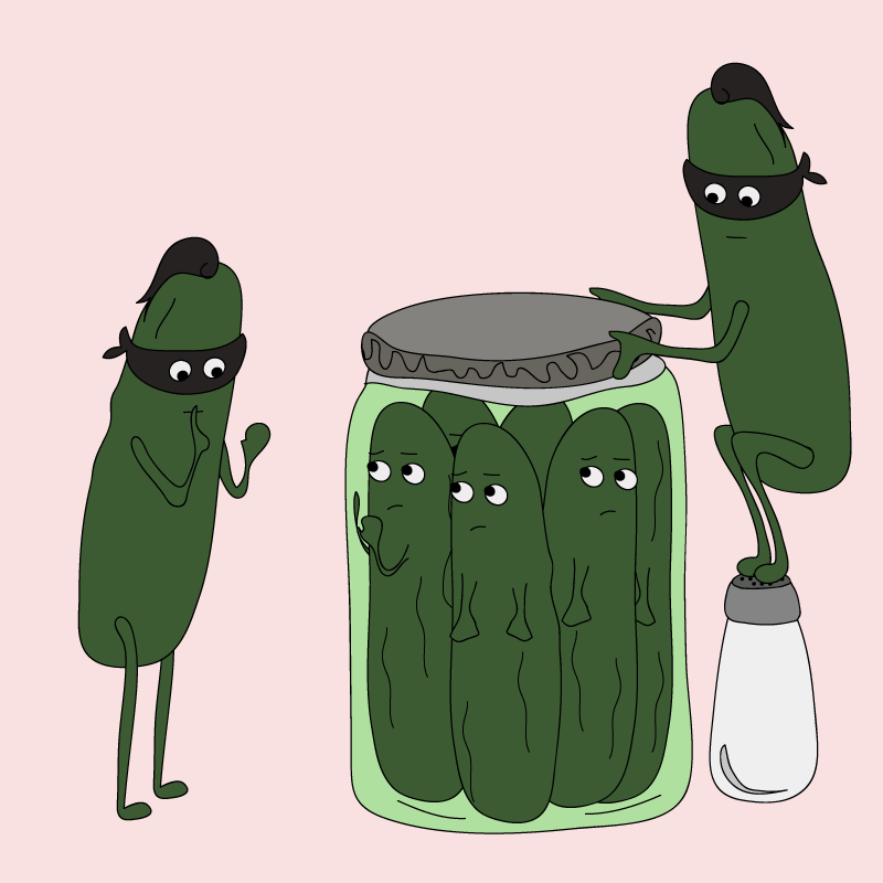 Ninja Pickles