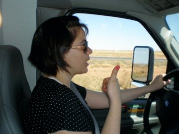 Even while driving Lisa has found the eight points to be a useful tool.