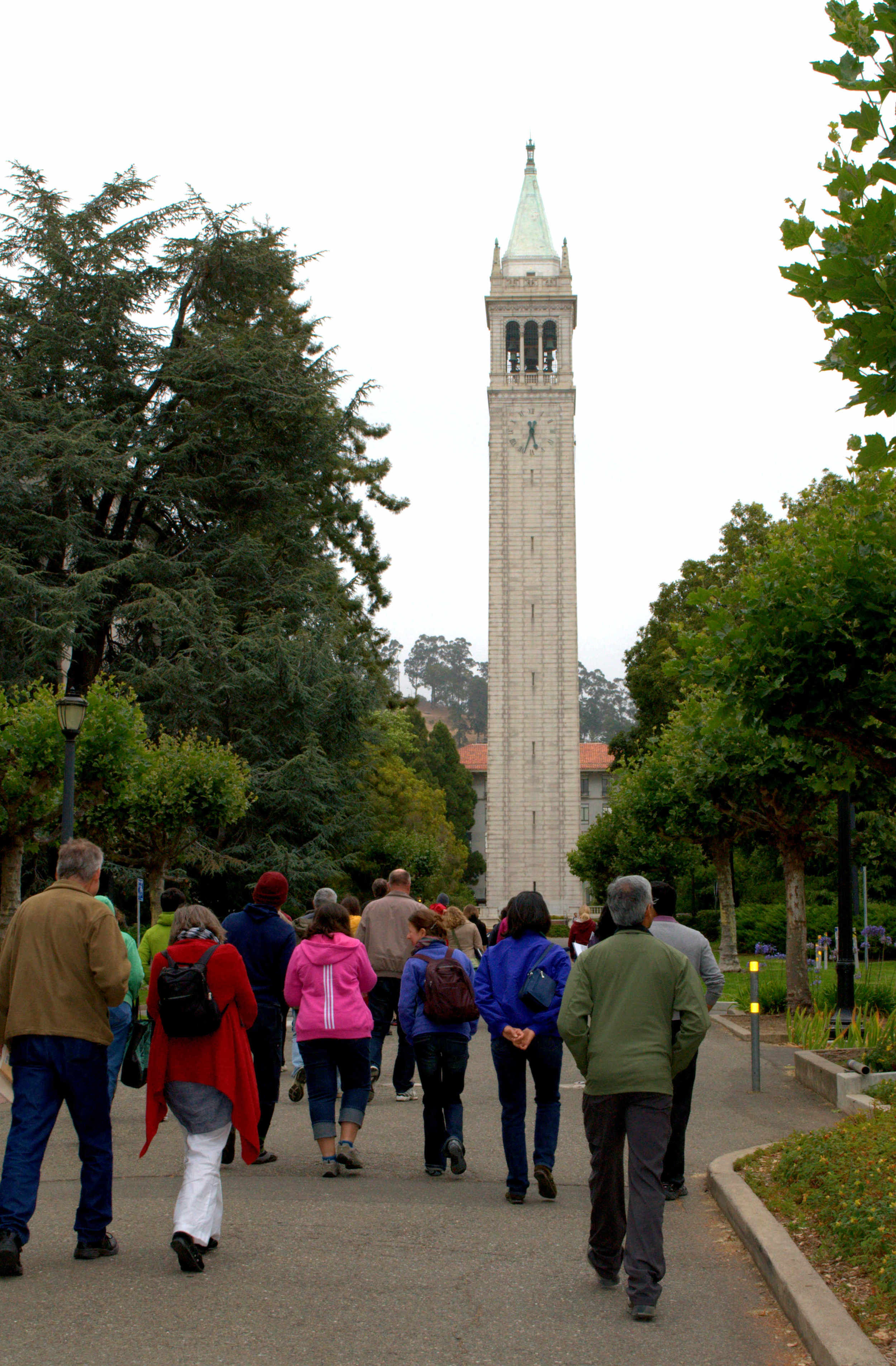 The UC Berkeley campus, where Fleur first discovered Easwaran and passage mediation.
