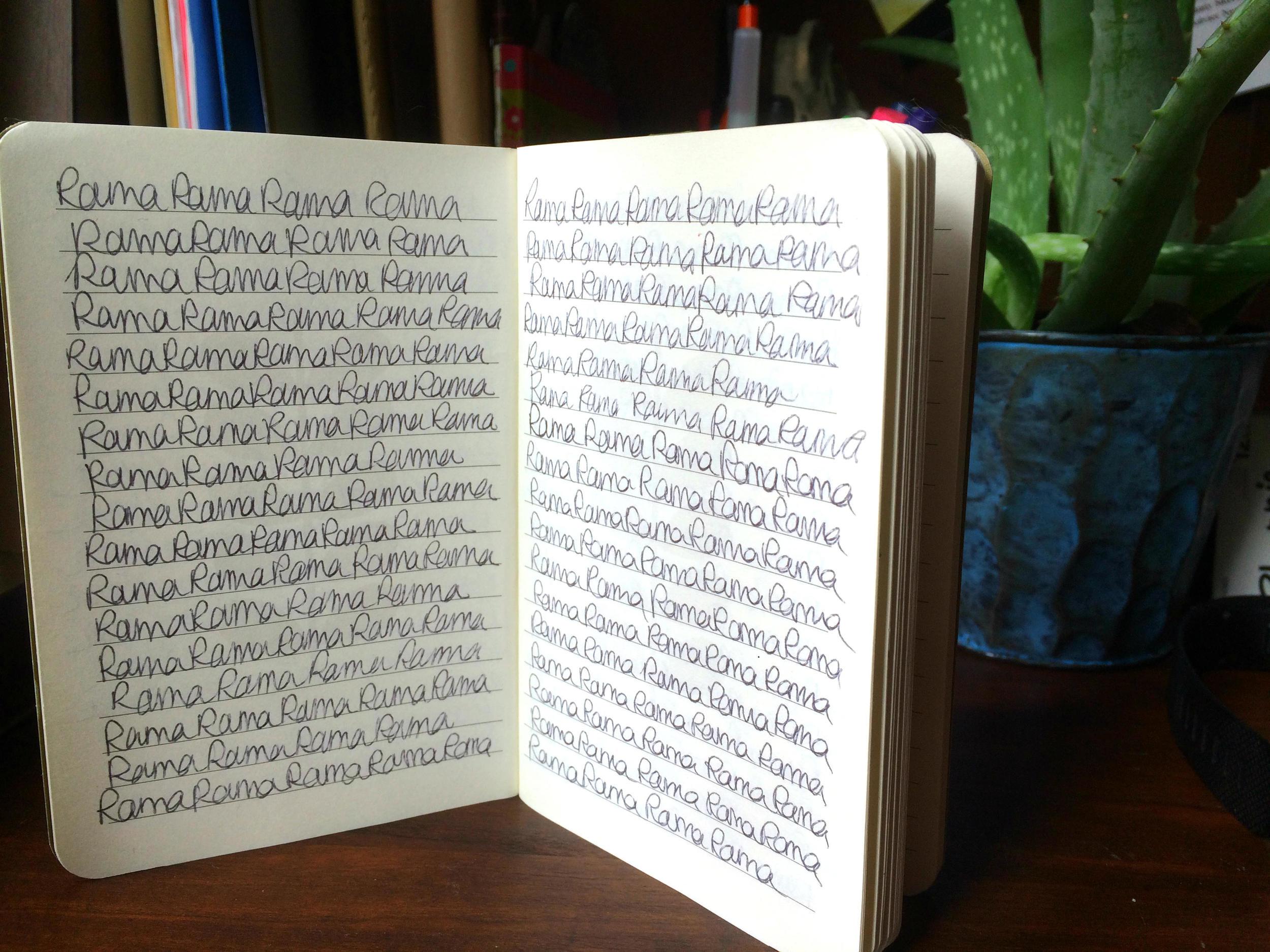 YA-Mantram-Writing