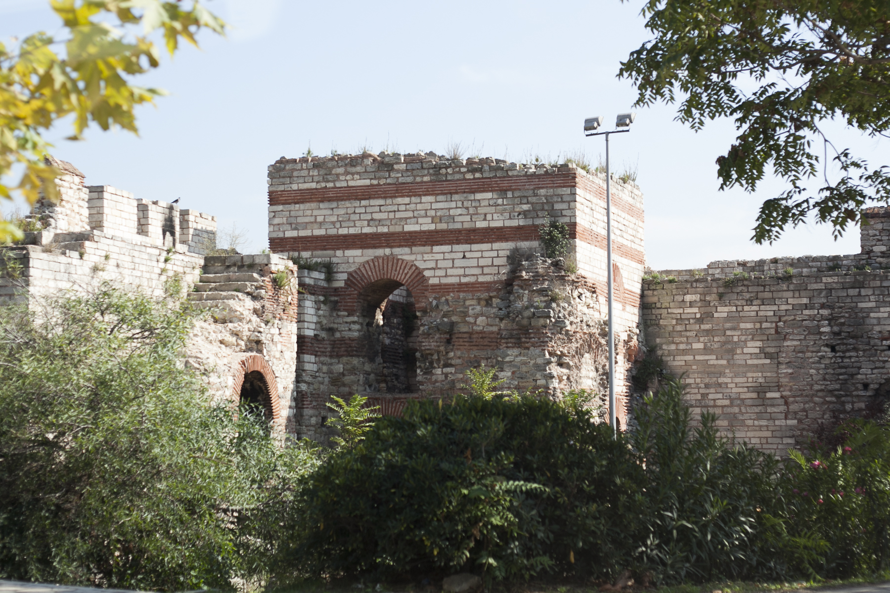Walls of Constantinople.
