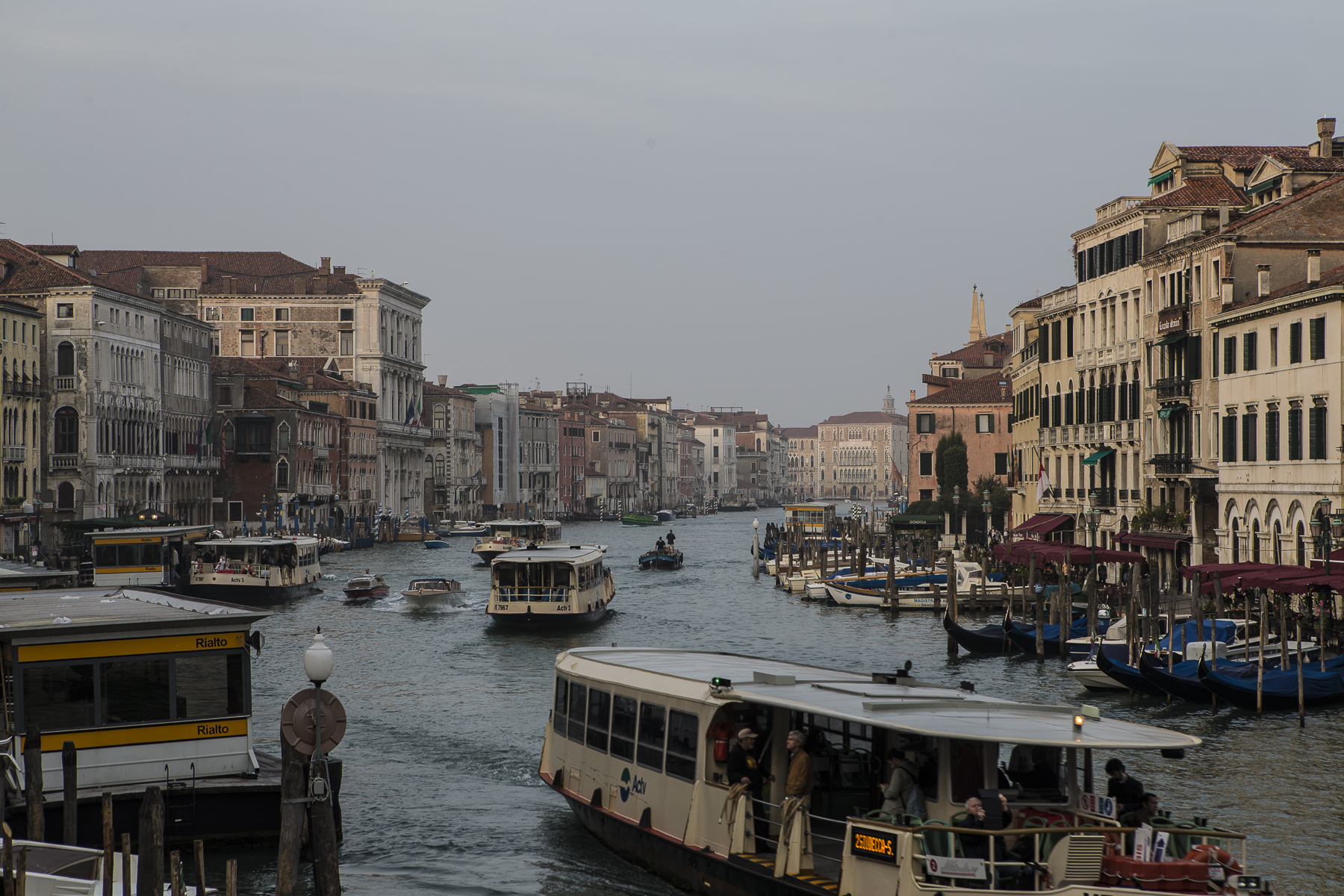Grand Canal at morning rush hour