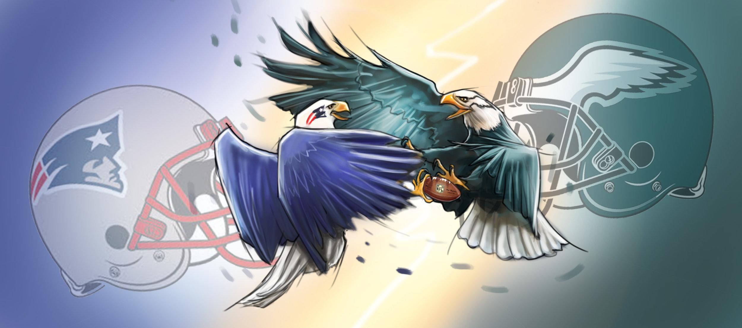 """Birds Of Prey"" Super Bowl LII"