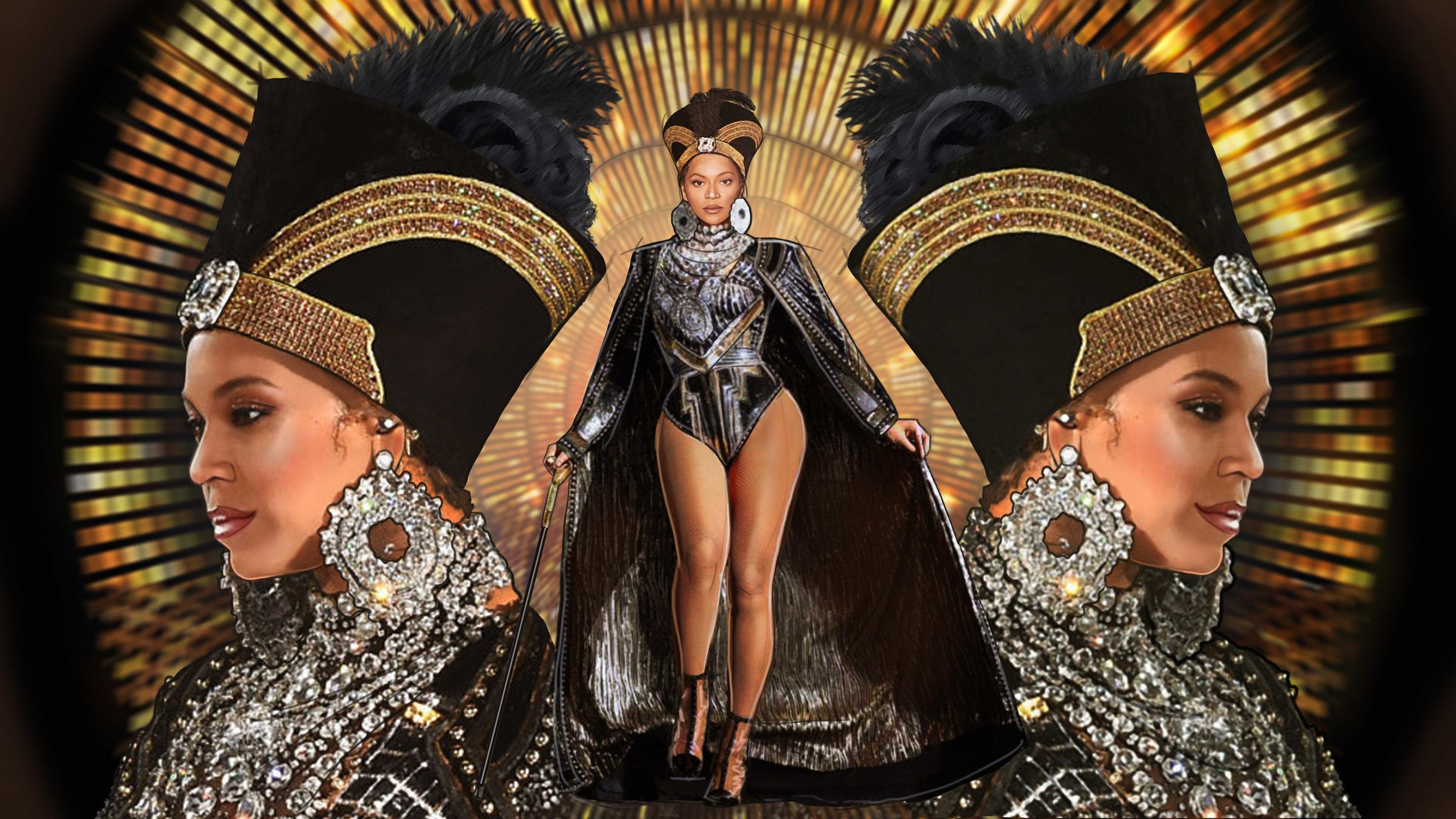 Beyonce Concert Concepts
