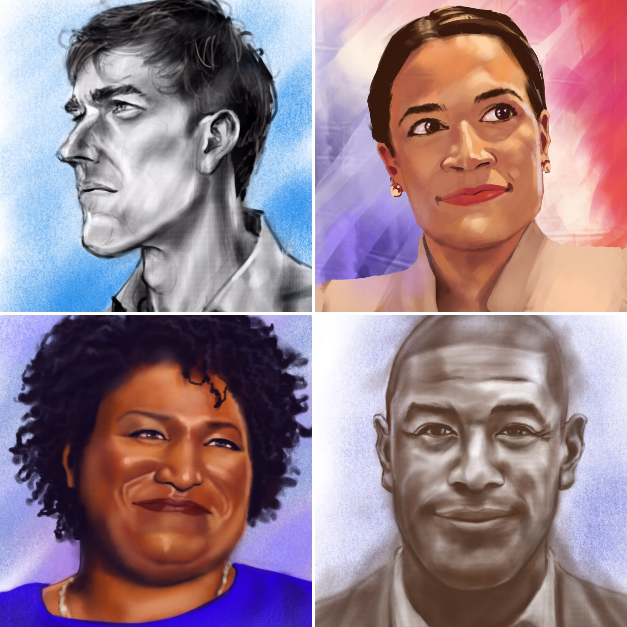 """Progress"" Portraits"