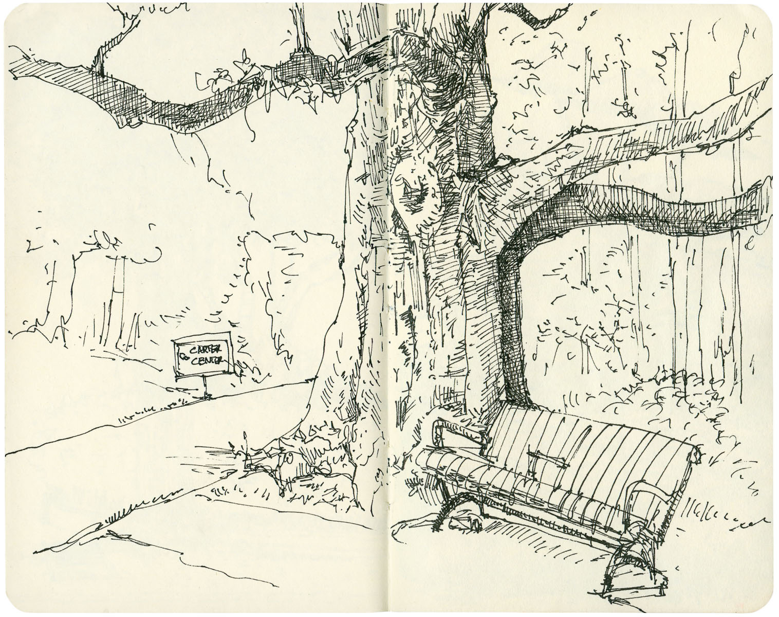 Sketchbook: Rest Stop