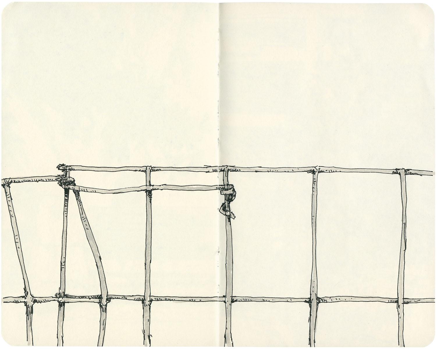 Sketchbook: Fence