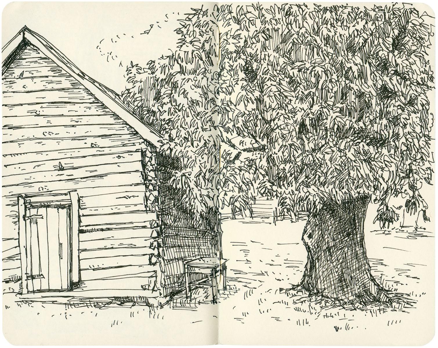 Sketchbook: Smokehouse