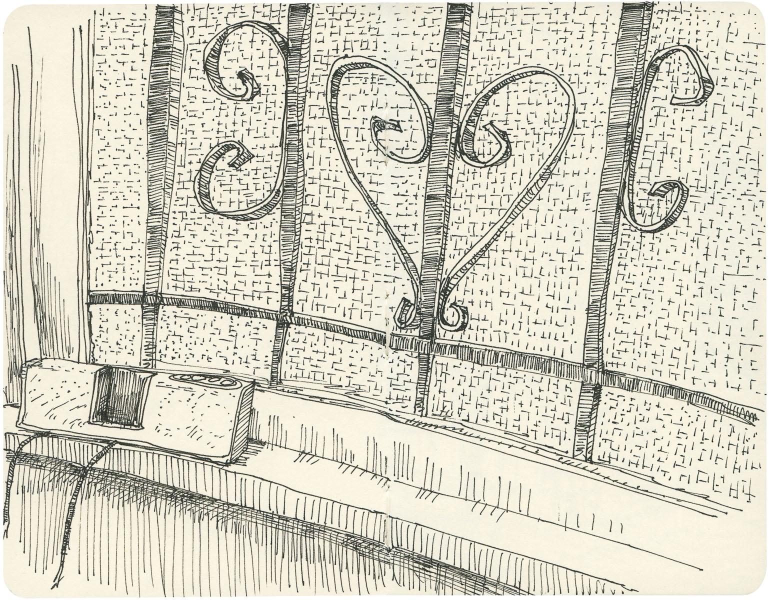 Sketchbook: Windowsill