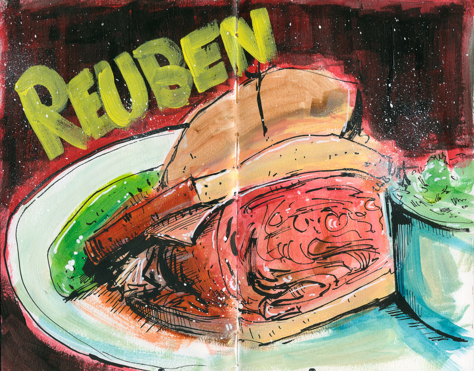 Cannon Pearson–Sketchbook: Reuben