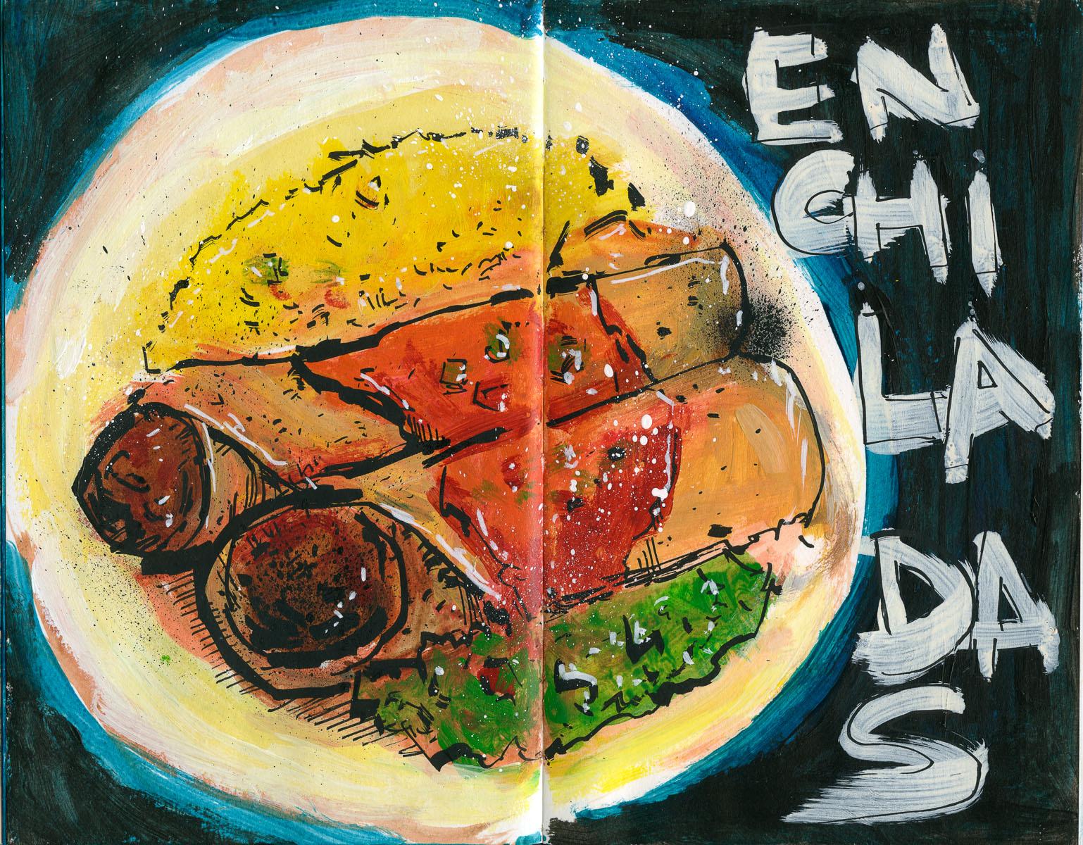 Cannon Pearson–Sketchbook: Enchiladas