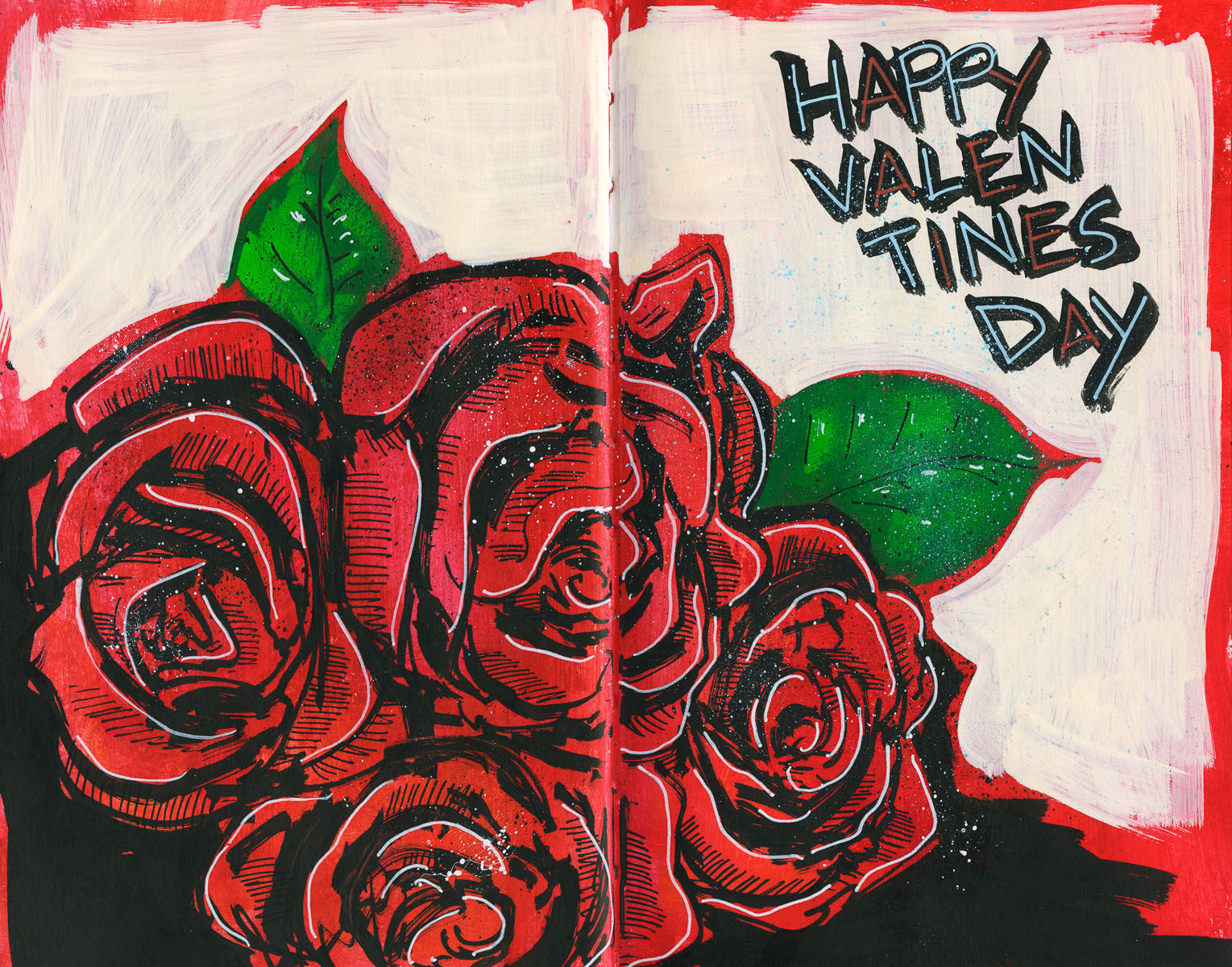 Cannon Pearson–Sketchbook: Valentines