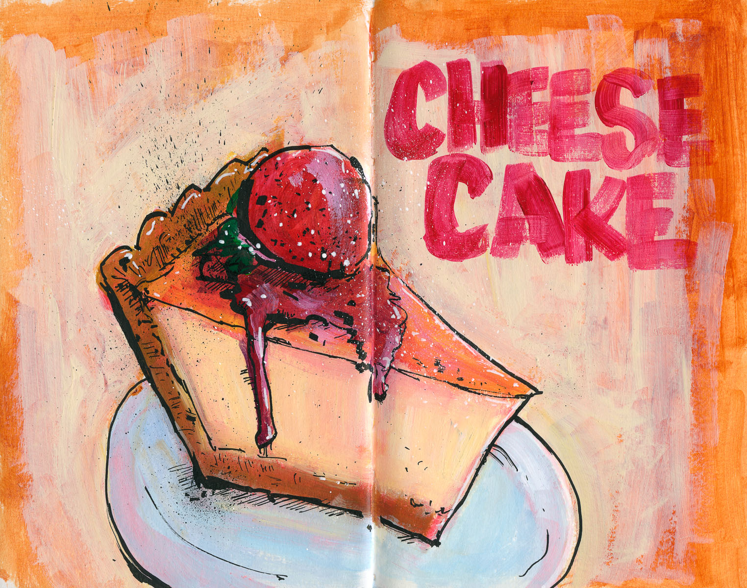 Cannon Pearson–Sketchbook: Cheesecake