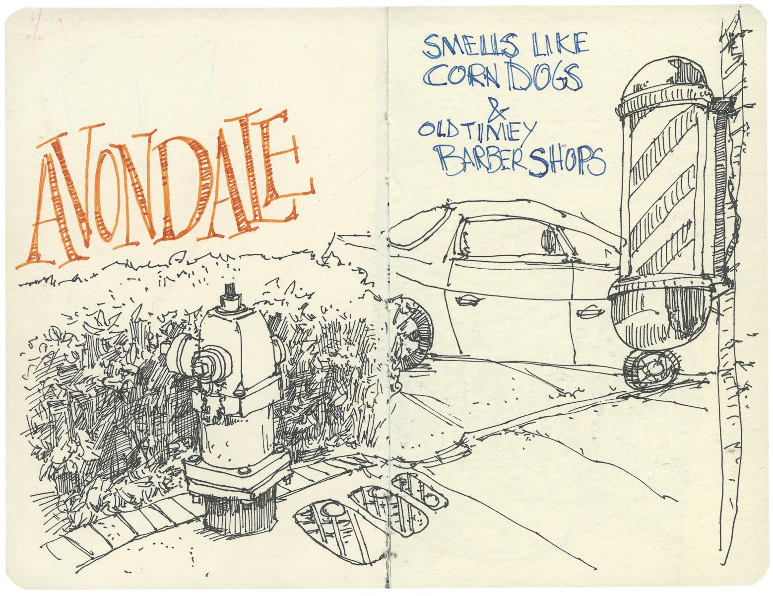 Sketchbook: Avondale