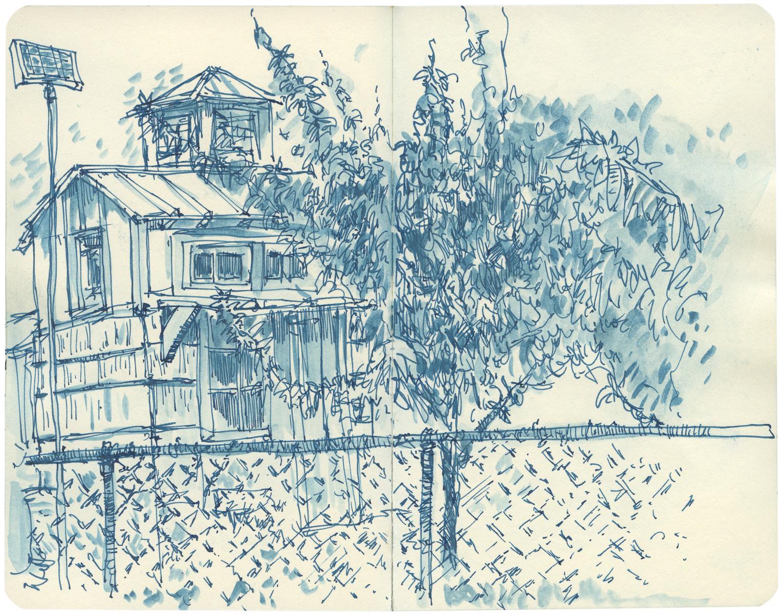 Sketchbook: Garden House