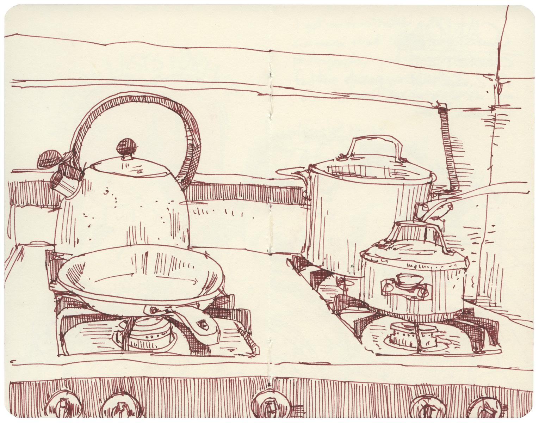 Sketchbook: Stovetop