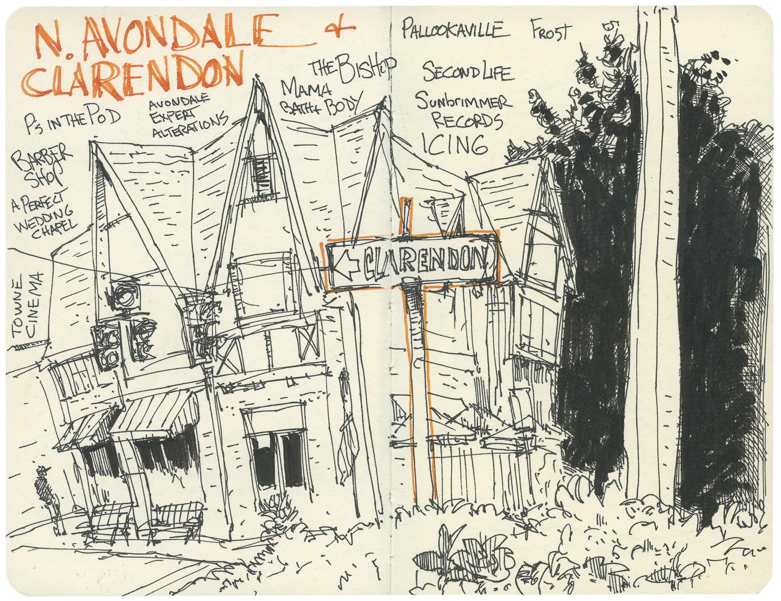 N. Avondale & Clarendon
