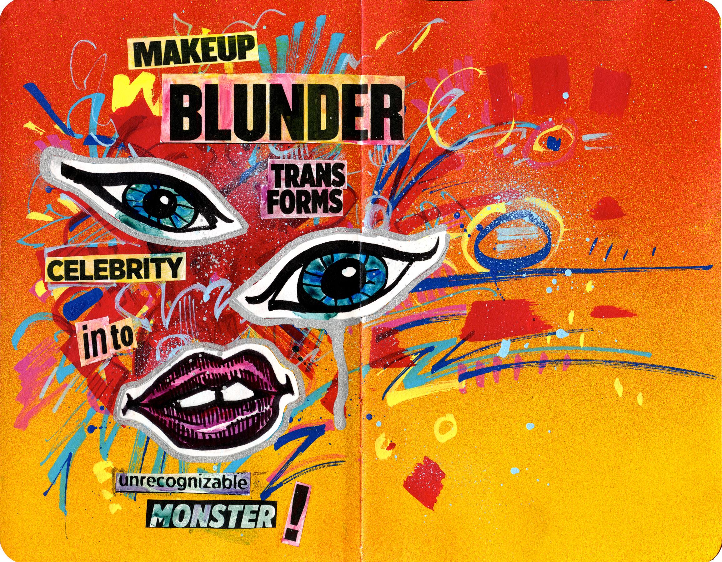 Makeup Blunder