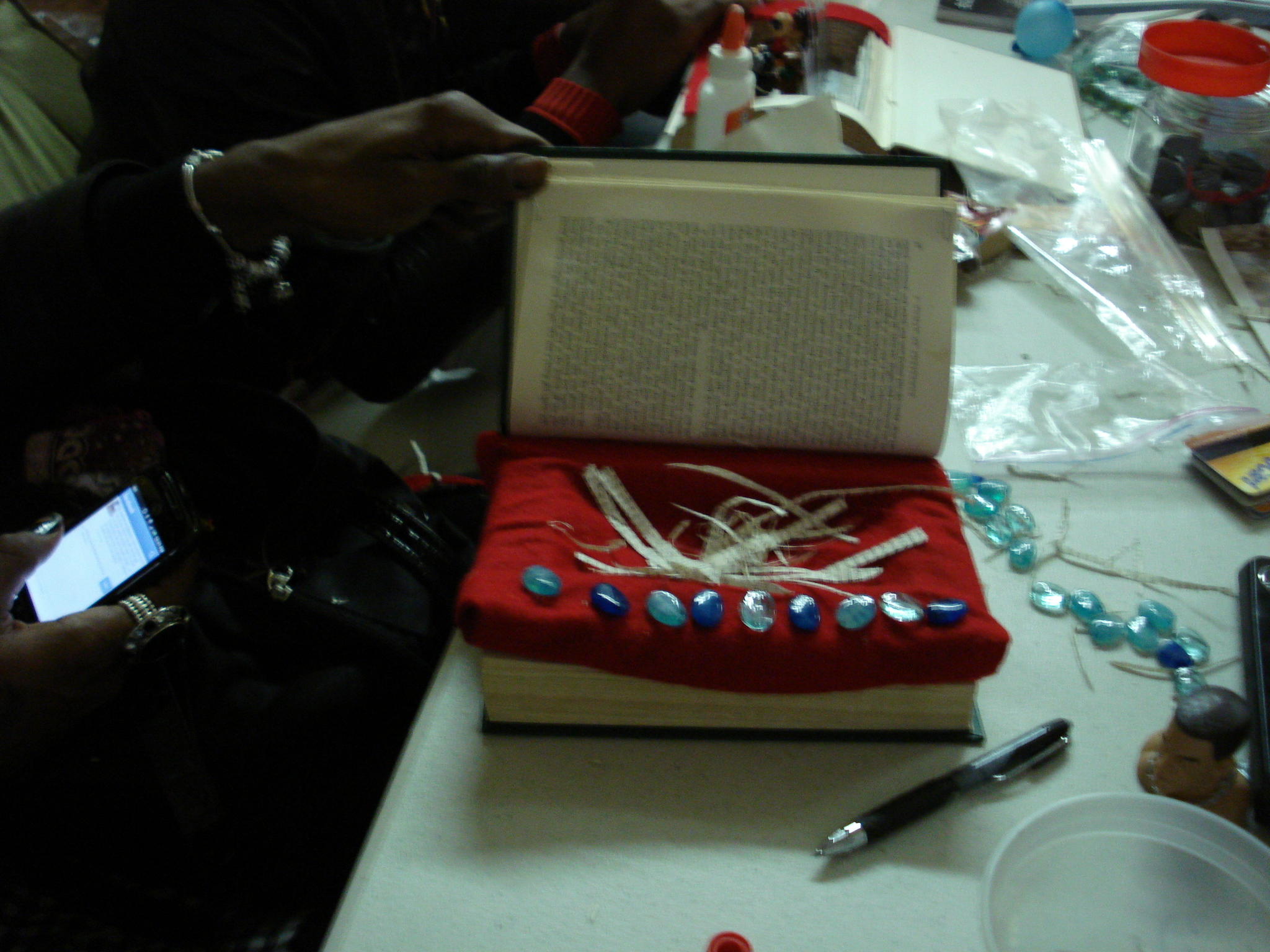 "Participant sculpture, ""Jewelry Box"", Ali Forney Center"