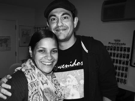 Vanessa Martir and Camilo Almonacid