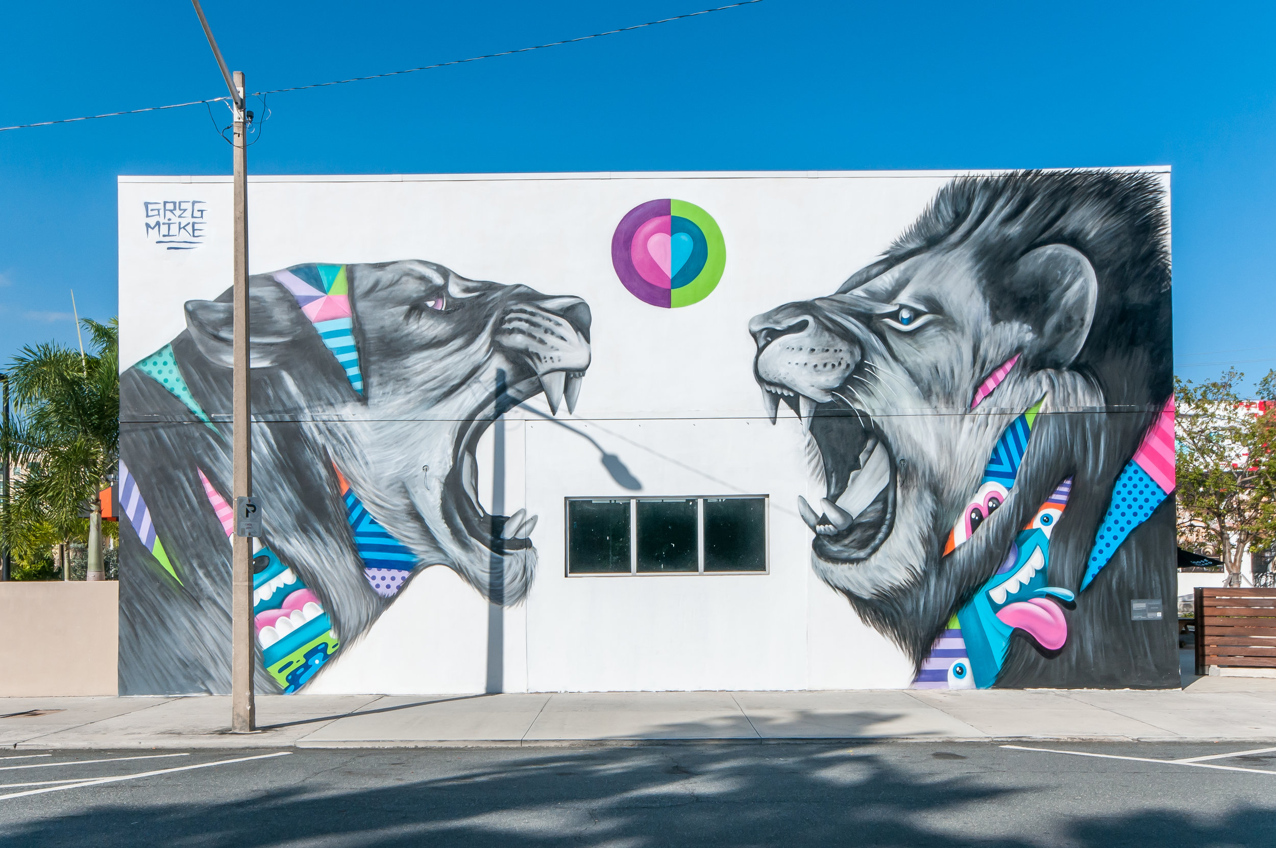 Greg Mike mural shot by Adrian Wilcox Photography for Canvas Outdoor Museum Show