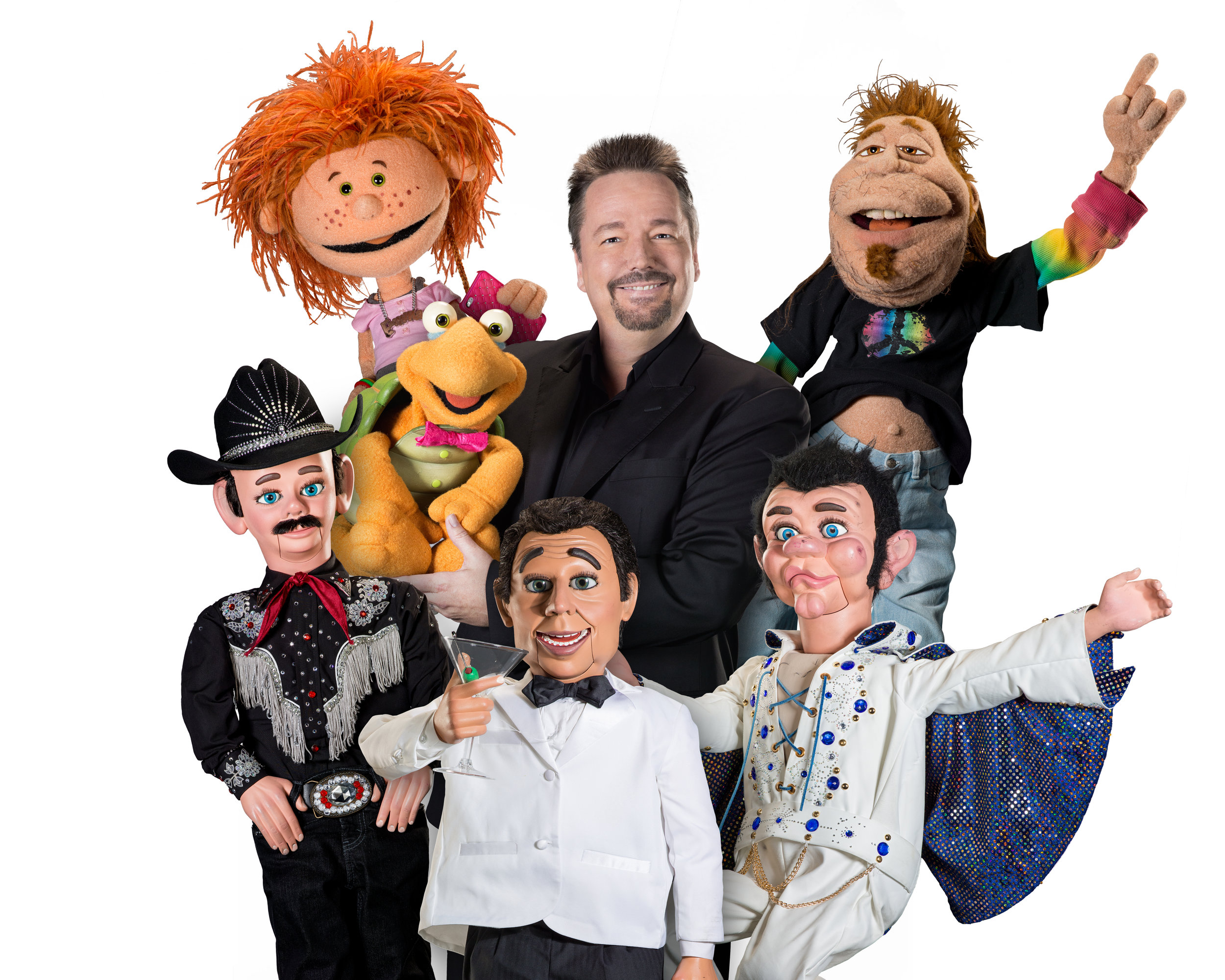 Comedian Terry Fator
