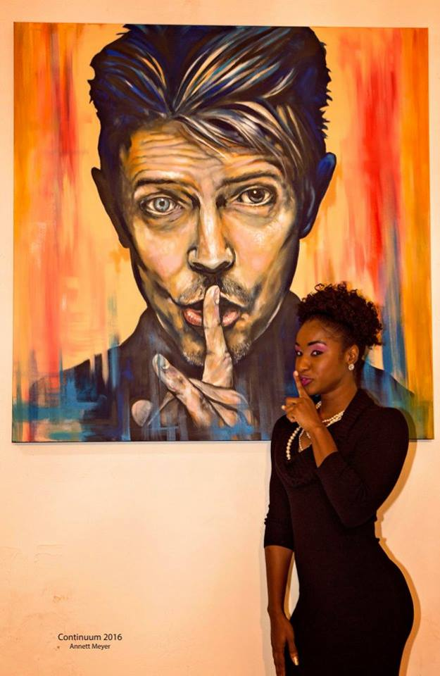 Tiffany Faublas  with art by Anthony Hernandez