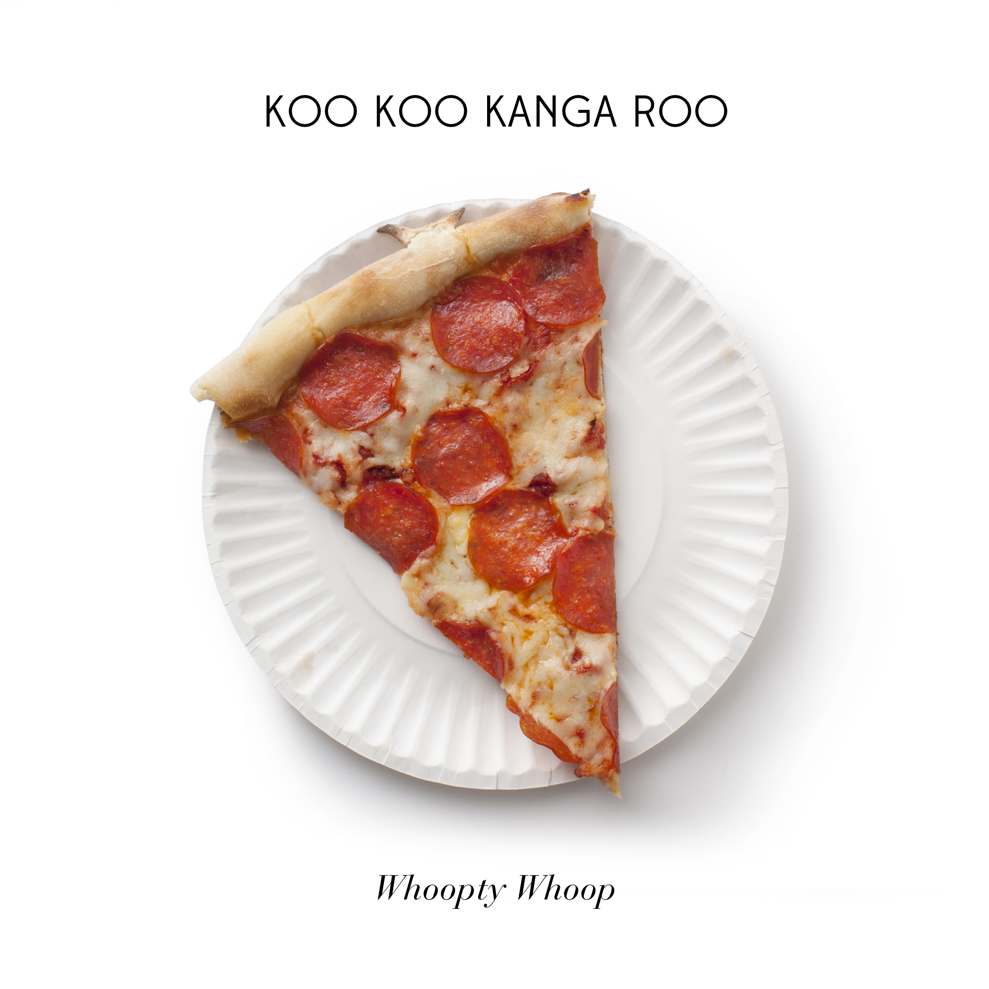 Our new record Whoopty Whoop is out now via Asian Man Records imprint Fun Fun Records.   1. All I Eat Is Pizza   2. Fanny Pack   3. The Coolest Person   4. POGO   5. Get Yo Body Movin' 6. Shake It Well ft.  P.O.S.   7. I Like Cake  8. Left 2 Right 9. Unibrow 10. Superheroes Unite  Produced by  Neil Zumwalde   Artwork by  Lacey Criswell Photography   Vinyl out in June here:  http://asianmanrecords.storenvy.com/   Get it everywhere.