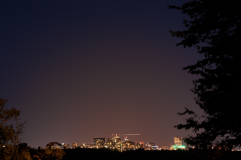 Portland, OR. Northern Lights. At least, Pacific Northwestern Lights...