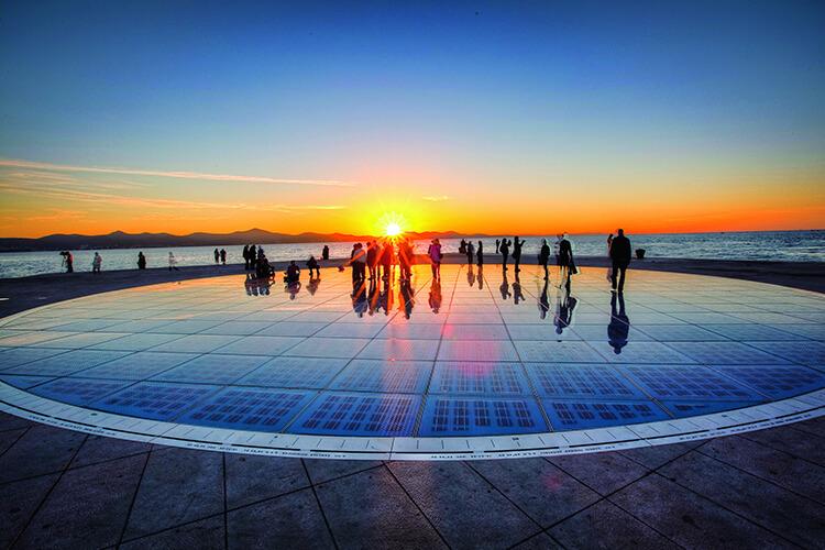 Zadar -Sun Salutation