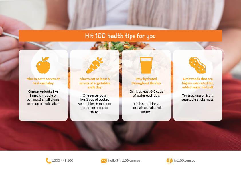 Teegan Pack - Hit 100 - Health Tips.jpg
