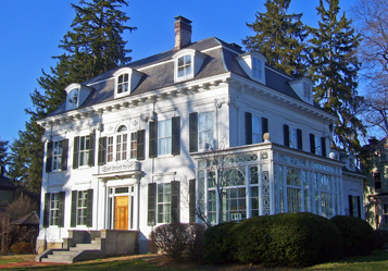 Thomas Nast home in Morristown, NJ. PD Source: Wikimedia Commons