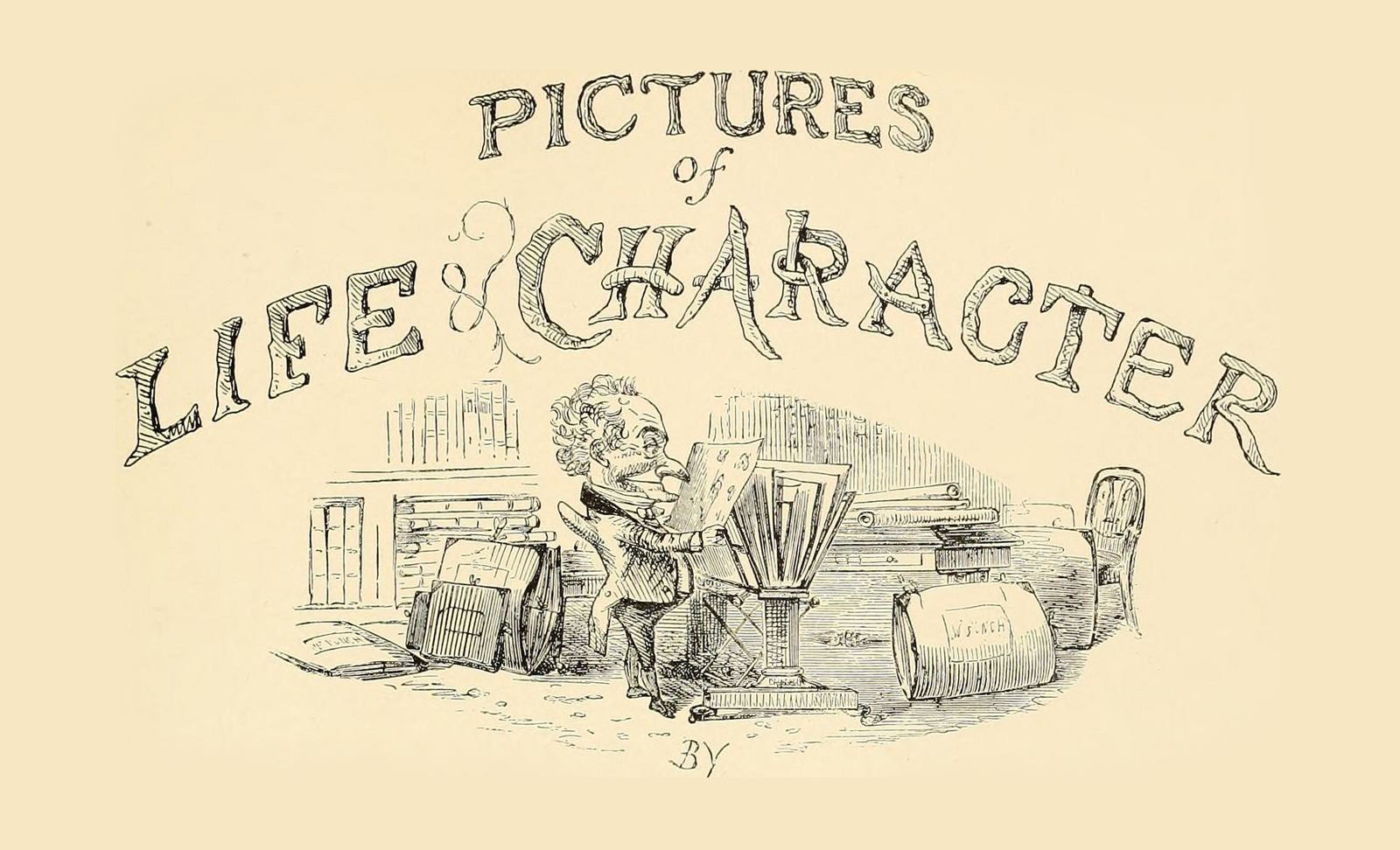 "Image from page 6 of ""Pictures of life & character"" (1800) from the  Internet Archive Book Images on Flickr ."