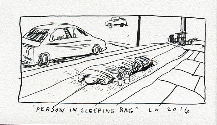Person in Bag