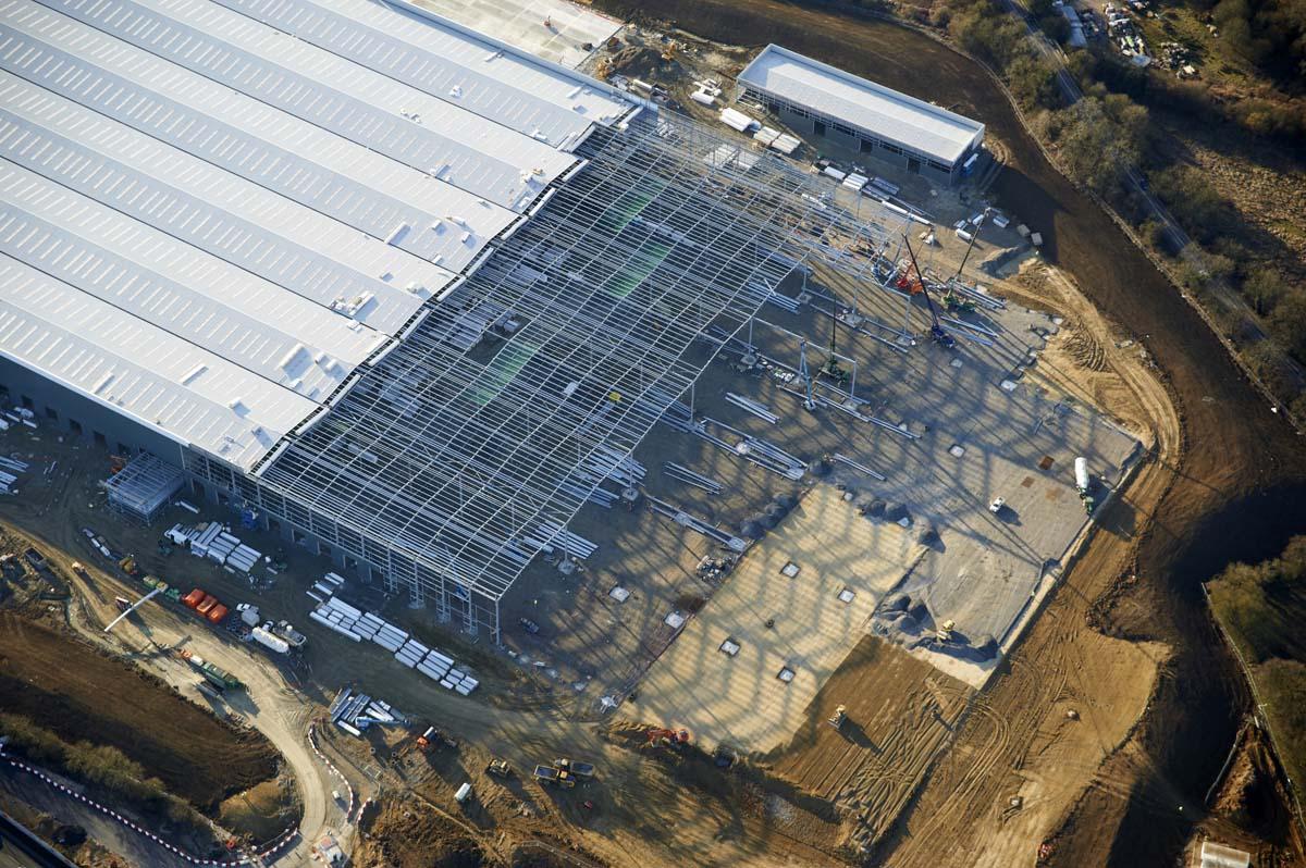 Site Progress Swindon for MacLaren Construction