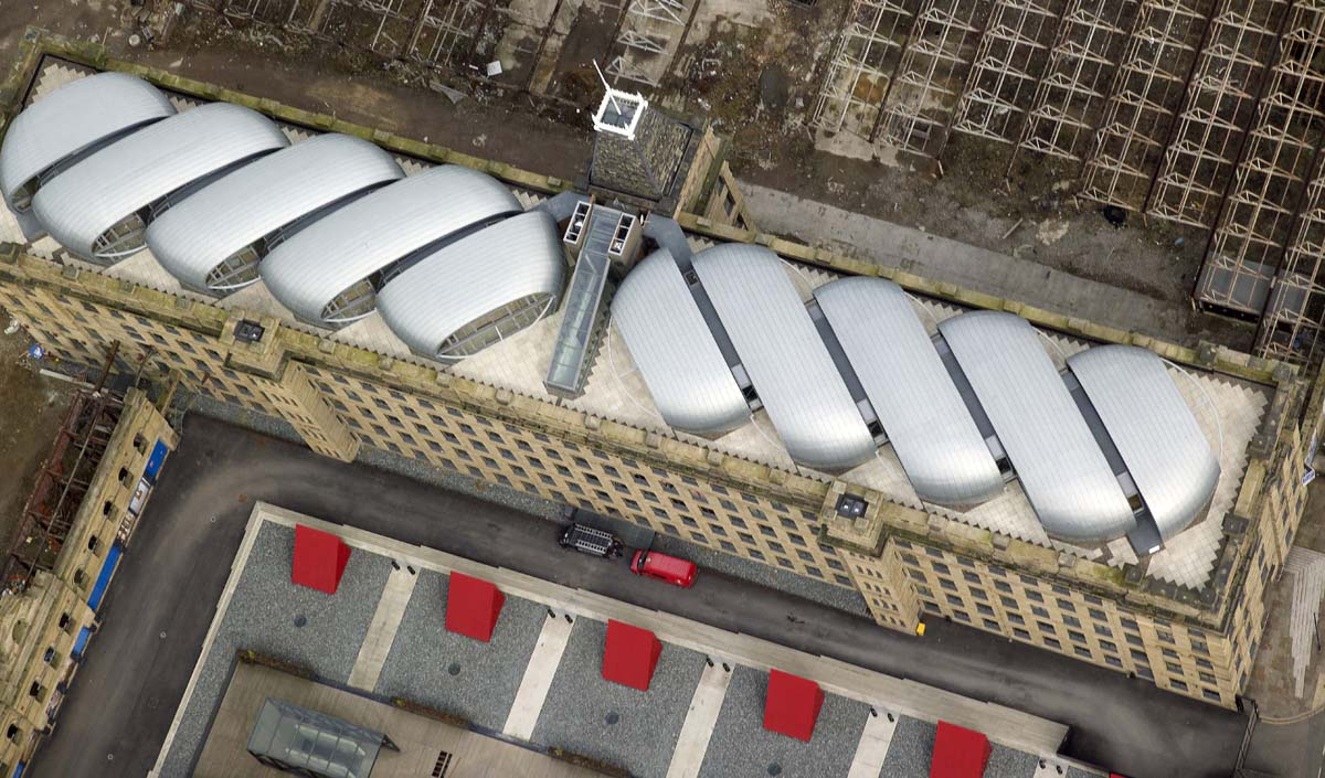 Mill Roof Top Apartments Bradford for Alumasc