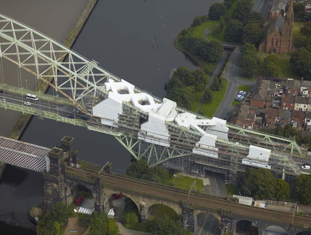 Runcorn Bridge for Lyndon Scaffolding