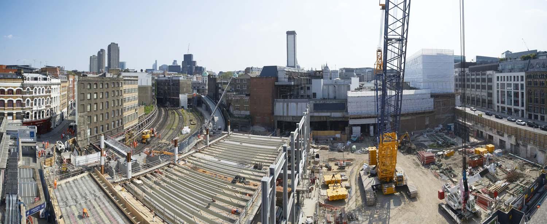Farringdon Station upgrade for Network Rail