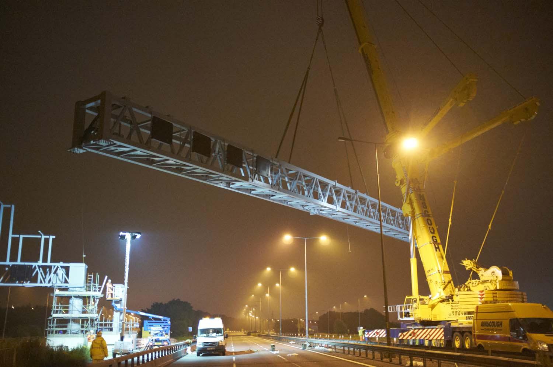 M62 Manged Motorway Scheme for BMJV/Highways Agency
